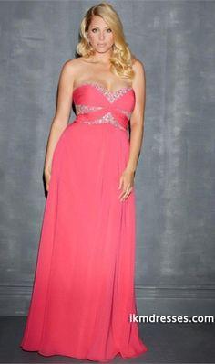 0e4367e0471 Beaded Strapless Sweetheart Sky Blue Long Plus Size Formal Dress
