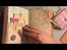 Part 5 Lets Make a journal Tags and Ephemera #junkjournaljunkies - YouTube