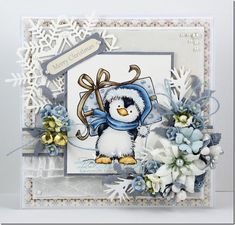 bev-rochester-wild-rose-studio-penguin-with-present