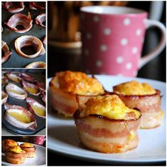 DIY Bacon Egg Muffin Cups