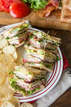 So you think you love club sandwiches, do you? You don't know good until you… So you think you love club sandwiches, do you? You don't know good until you've had the BEST Triple Decker Club Sandwich. Club Sandwich Recipes, Best Sandwich, New Recipes, Cooking Recipes, Favorite Recipes, Healthy Recipes, Kraft Recipes, Clubhouse Sandwich, Ideas Sándwich