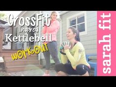 CrossFit Inspired Kettlebell Workout with Carrots'n'Cake