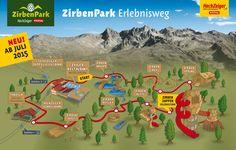 Der neue Zirbenpark am Hochzeiger – ab Juli 2015 im Pitztal in Tirol #DachTirols