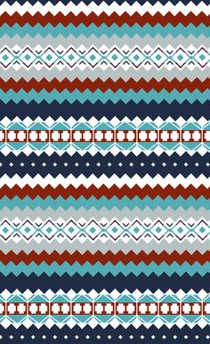 Navajo Pattern by Sean OConnor Pink Wallpaper Ios, Aztec Wallpaper, Cute Wallpaper Backgrounds, Cute Wallpapers, Iphone Backgrounds, Screen Wallpaper, Iphone Wallpapers, Navajo Pattern, Pattern Art