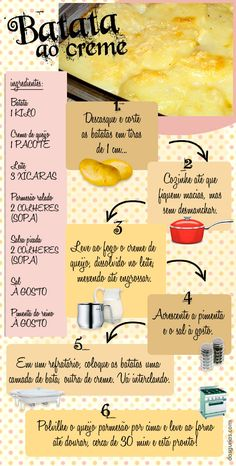 / The potato cream. No Salt Recipes, Wine Recipes, Cooking Recipes, Vegetable Recipes, Vegetarian Recipes, Cooking Joy, Gourmet Salt, Eating Fast, Portuguese Recipes