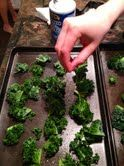 How to make Kale Chips--believe it or not, these are really good!!