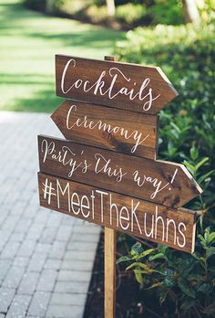 Brides.com: 29 Backyard Wedding Ideas Don't let mother nature rain on your parade and ruin the party. Stock up on umbrellas for stormy weather (or flip flops for shine!) to prepare for unexpected weather snafus. Photo: Colette Kulig Photography
