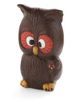 Vintage Owl in the Details Figurine
