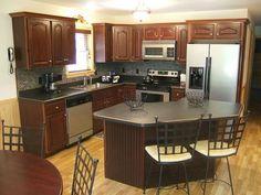 kitchen- make it dark on dark wood and it would be perfecttttt <3