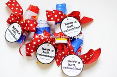 Giving this to daycare kiddos and friends kiddos this year!  :)  have a ball :: beach ball valentines