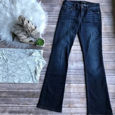 Joes Jeans Womens 26 Booty Fit Dark Wash Flare Jeans Bootcut #JoesJeans #Flare