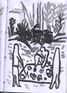 #FILM #ILLUSTRATION #CC #MOVIE - Ilustración de agradecimiento a los mecenas de GENESSIES by ARCADI BALLESTER.  Genessies: Historia de un naufragio voluntario. Historia de la búsqueda de un origen demasiado lejano. Historia de una despedida obligatoria, de un exilio y una montaña mágica. Historia de un viaje dentro de un viaje, de una mirada hacia adentro.   CAMPAÑA: www.verkami.com/projects/1403  +INFO: www.arcadiballester.blogspot.com.es