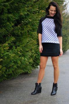 Пуловер у горохи! | BurdaStyle.ua: Мода, Дизайн, Рукоділля, Викрійки