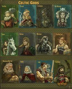 celtic mythology at DuckDuckGo Mythological Creatures, Fantasy Creatures, Mythical Creatures, Irish Mythology Creatures, World Mythology, Celtic Mythology, Celtic Symbols, Celtic Art, Celtic Paganism