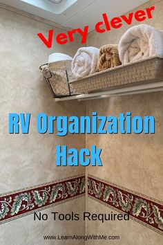Camper Hacks Discover 18 Awesome RV Organization Ideas and RV Space-saving Tips Need help organizing your cramped RV? Here are 18 awesome RV organization ideas and RV storage ideas & solutions to declutter your RV trailer or camper. Organisation En Camping, Travel Trailer Organization, Camping Storage, Camping Organization, Rv Storage, Organization Ideas, Storage Ideas For Campers, Smart Storage, Caravan Storage Ideas Space Saving