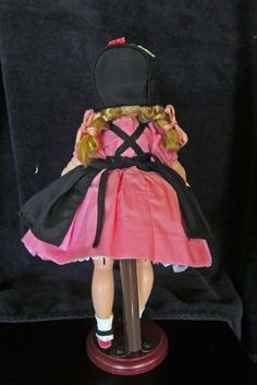 "Beautiful Madame Alexander Alexander 1957 12"" Lissy Doll in RARE Outfit 