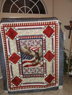 Quilt of Valor. Thank you to all those who have served.