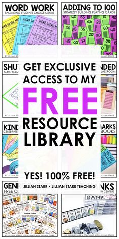 Free games, activities, and resources for students in first, second, third and fourth grade! Get all of these teacher freebies for your classroom in one place! Classroom Community, Special Education Classroom, Classroom Fun, Free Teaching Resources, Teaching Activities, Teacher Resources, Fourth Grade Math, Third Grade, Classroom Organization Labels