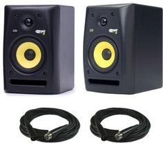 KRK Rokit RP5 G2 Powered Desktop Studio Monitors Pair w/ XLR Cables  http://www.instrumentssale.com/krk-rokit-rp5-g2-powered-desktop-studio-monitors-pair-w-xlr-cables-2/