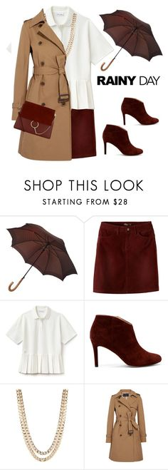 """rainy day office style"" by katymill ❤ liked on Polyvore featuring Louis Vuitton, prAna, Lacoste, Sole Society, BaubleBar, J.Crew and Chloé"