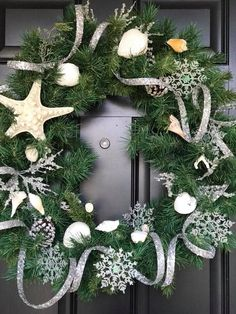 Coastal/Beach Wreath