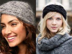 Rosa acessórios em tricô & crochê: Acessórios de cabelo