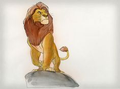 Living Lines Library: The Lion King (1994) - Character: Mufasa