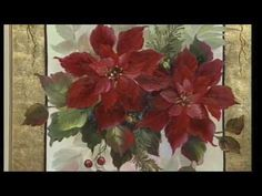 "The Beauty of Oil Painting, Series 1, Episode 10 "" Poppies on Gold Leaf "" - YouTube"