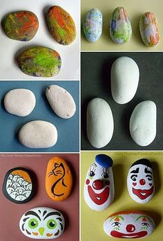 Do-Over Painted Rocks OR How To Re-Paint Rocks and Stones