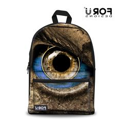 39.99$  Watch now - https://alitems.com/g/1e8d114494b01f4c715516525dc3e8/?i=5&ulp=https%3A%2F%2Fwww.aliexpress.com%2Fitem%2FPretty-Green-Blue-Eyes-Pupil-Printing-Backpacks-For-Teenager-Boys-Outdoor-Travel-Men-Black-Backpacks-Fashion%2F32489897506.html - 3D Big Eyes Pupil Printing Backpacks For Teenager Boys Girls Travel Men Black Backpacks Fashion Mochila Feminina FORUDESIGNS