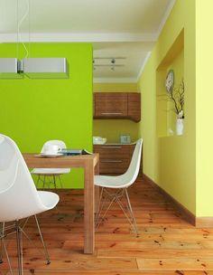 zielona ściana w kuchni - Szukaj w Google