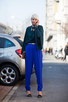 Carolines Mode | StockholmStreetStyle  Love the shirt where can I find