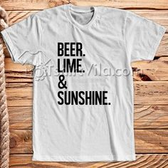 Like and Share if you want this  Beer Lime And Sunshine T Shirt - T Shirt Adult Unisex Size S-3XL     Tag a friend who would love this!     FREE Shipping Worldwide     Get it here ---> https://tshirtvila.com/product/beer-lime-and-sunshine-t-shirt-t-shirt-adult-unisex
