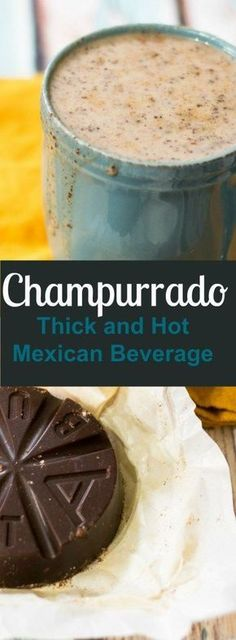 Recipe (Hot Mexican Beverage) champurrado is a delicious mexican beverage that is perfect for these colder winter months!champurrado is a delicious mexican beverage that is perfect for these colder winter months! Authentic Mexican Recipes, Mexican Food Recipes, Dinner Recipes, Drink Recipes, Dinner Ideas, Mexican Drinks, Mexican Dishes, Mexican Snacks, Mexican Party