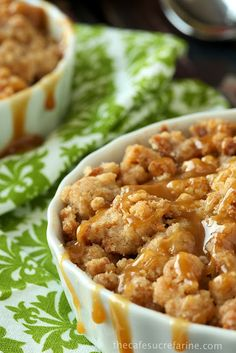 World's Easiest Apple Crumble - with BISCOFF!