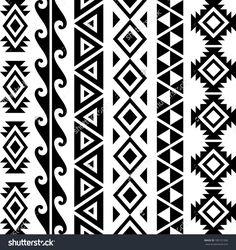 hawaiian-triangle-tribal-patterns.jpg (1500×1591)