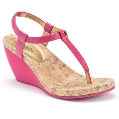 Chaps Raevyn Women's Slip-On Wedge Sandals