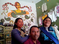 Visitándonos desde San Juan Chamula.