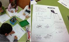 tresquatreicinc: LECTOESCRIPTURA AMB UNA CADIRA D'IKEA Ikea, Monopoly, Language, Uni, Writing, Ikea Co, Language Arts