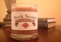 Diana - Book Inspired Candle - Hand Poured, 10 oz soy blend container candle by BookScentsCandles on Etsy