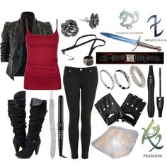 """""""Shadowhunter"""" by death-to-destiny on Polyvore"""