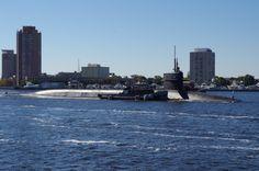 Norfolk, VA Submarine Elizabeth River