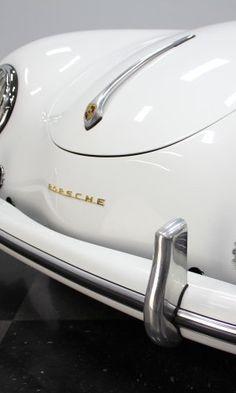 This Porsche is so cool it makes us sick! Check it out. Vintage Porsche, Vintage Cars, Antique Cars, Porsche 356 Replica, Porsche 356a, Little Red Corvette, Porsche Models, Car Trailer, Expensive Cars