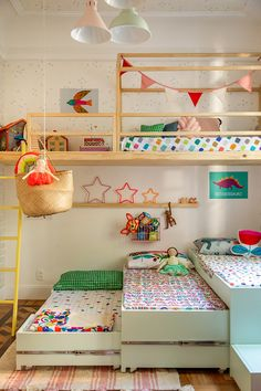 Home Decoration is a kind of skill that needs to be adopted from various sources. To get thorough knowledge about home decoration, you can visit your friends or colleagues house; Baby Bedroom, Girls Bedroom, Bedroom Decor, Baby Decor, Kids Decor, Decor Ideas, Kids Room Design, Playroom Design, Shared Rooms