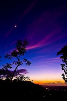 After sunset....