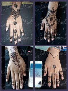 Henna fun by zahramehandi