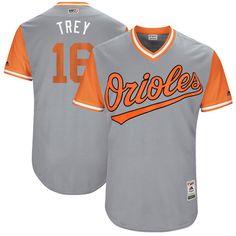 422217dbd Men s Baltimore Orioles Dylan Bundy -Bundy- Majestic Gray 2017 Little  League World Series Players Weekend Stitched Nickname Jersey