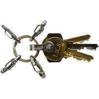 True Utility - Key Ring System with 5 Key Shackle Paracord, True Utility, Tool Store, Key Organizer, Bare Essentials, Edc Gear, Sleek Look, Split Ring, Everyday Carry