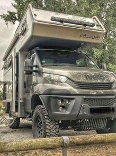Best Truck Camper, Suv Camper, Off Road Camper Trailer, Camper Caravan, Camper Trailers, Iveco 4x4, Iveco Daily 4x4, Adventure Campers, Car Mods