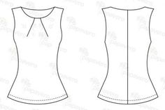 easy shirt - free pattern